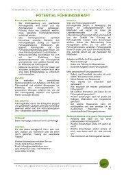 Potentialfuhrungskraft - Academy4socialskills