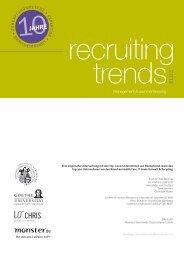 Recruiting Trends 2012 - Job Affairs