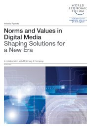 Norms and Values in Digital Media Shaping Solutions for a New Era