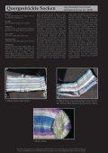 Quergestrickte Socken Strickanleitung - Tutto - Seite 2