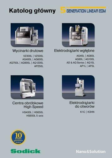 Product Range Brochure, 07/2011 - Sodick Europe Ltd.
