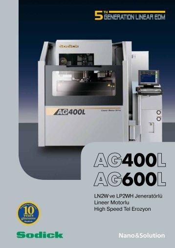 AG400L AG600L - Sodick Europe Ltd.
