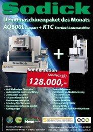 Download Info PDF AQ600L - Sodick