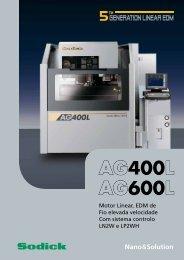 AG400L AG600L - Sodick
