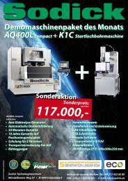Download Info PDF AQ400L - Sodick