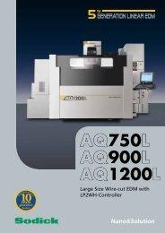 AQ750L AQ900L AQ1200L - Sodick Europe Ltd.
