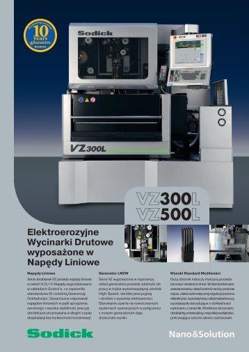 VZ300L/VZ500L - Sodick Europe Ltd.