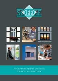 Hochwertige Fenster und Türen aus Holz und Kunststoff - Söffge ...