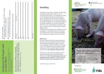 Tiergerechte Haltungssysteme für Schweine - Verband der ...