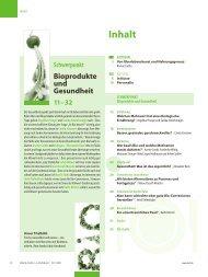 Heft 157, 1/2011 - Stiftung Ökologie & Landbau