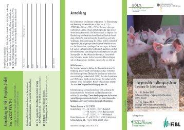 Programmes - Bundesprogramm Ökologischer Landbau
