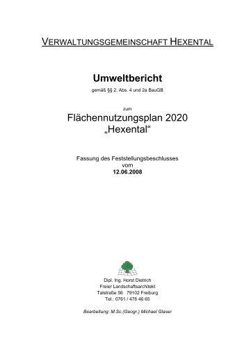 Umweltbericht - Merzhausen