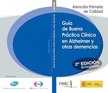 Guía de Buena Práctica Clínica en Alzheimer y otras demencias