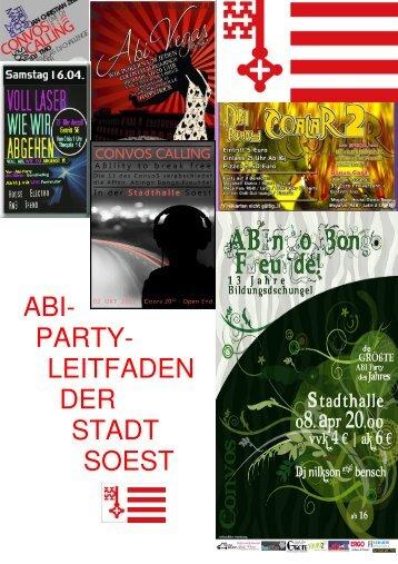 Abi-Party-Leitfaden - Soest