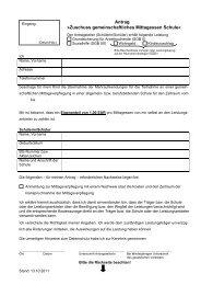 Antrag »Zuschuss gemeinschaftliches Mittagessen Schule« - Soest