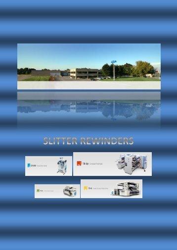 Euromac slitter rewinders catalogue