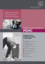Prospekt PDVC komplett - SoforTe