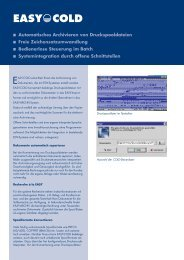 Datenblatt EASY COLD (PDF, 63 KB) - Soft-com.de