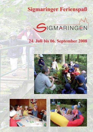 Sigmaringer Ferienspaß - Sigmaringen