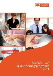 und Qualifizierungsprogramm 2011 -  Sogeti Deutschland GmbH