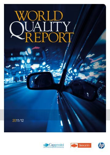 2011-2012 WoRld QualitY RepoRt