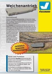 Weichenantrieb - Viessmann Modellspielwaren GmbH