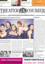 TheaterCourier - Ausgabe 3 - 15. März 2013