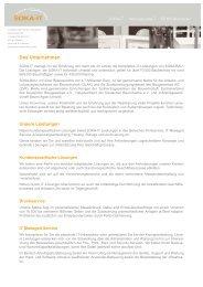SOKA-IT   Unternehmen und Leistungen