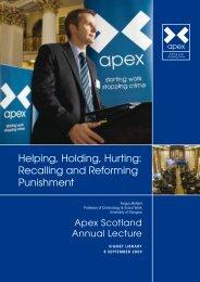Apex-lecture---Fergus-McNeill