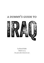 A-Dummys-Guide-to-IRAQ-2013