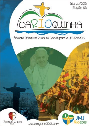 Boletim RC caRIOquinha - JMJRio2013 - ed.3 POR
