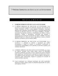 7º PRÊMIO IMPRENSA EDUCAÇÃO INVESTIDOR