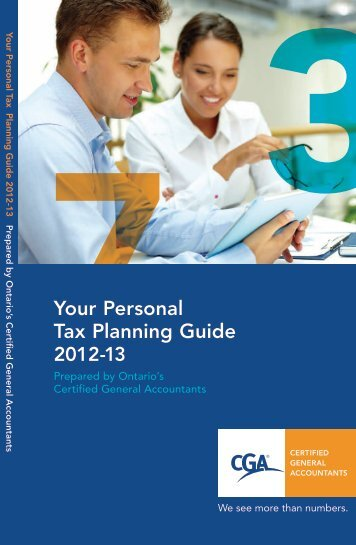 7Your Personal Tax Planning Guide