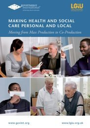 GovInt_London_Pamphlet_2012__MAKING_HEALTH_AND_SOCIAL_CARE_PERSONAL_AND_LOCAL_