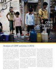 CERF_ActivitiesIn2012_FINAL