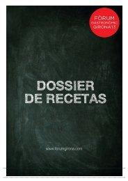 DOSSIER DE RECETAS