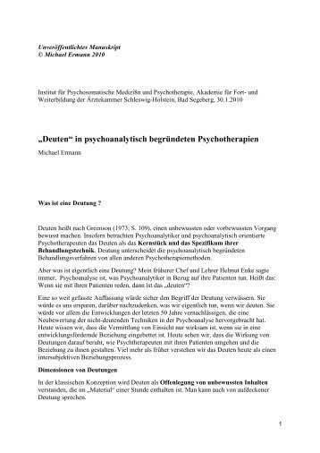 2010_Deuten_in_psychoanalytisch_begruendeten_Psychotherapien