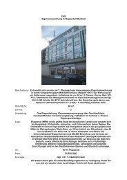 2353 Eigentumswohnung in Wuppertal Elberfeld Beschreibung: Es ...