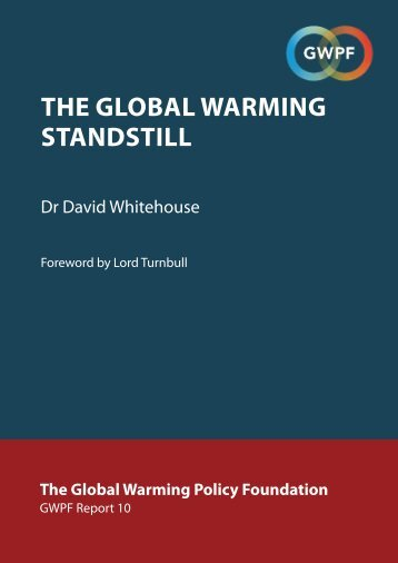 THE GLOBAL WARMING STANDSTILL
