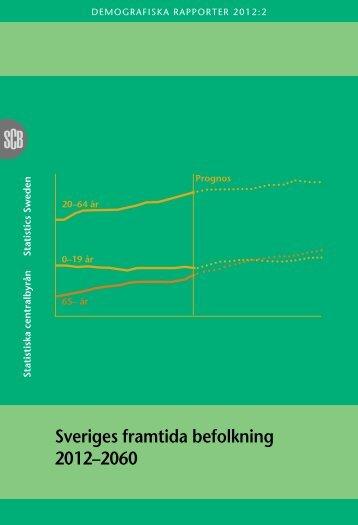 Sveriges framtida befolkning 2012–2060