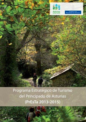 Programa Estratégico de Turismo del Principado de Asturias (PrEsTa 2013-2015)