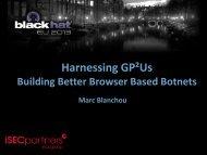 Harnessing GP²Us