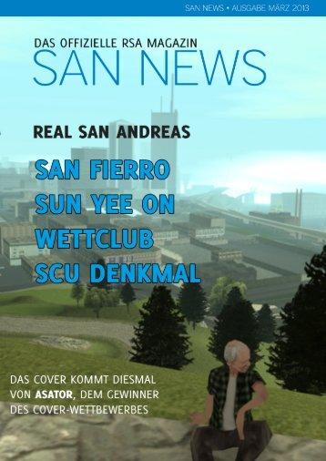 SAN News Ausgabe März 2013