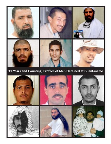 11 Years and Counting: Profiles of Men Detained at Guantánamo