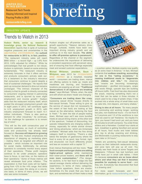 Trends to Watch in 2013