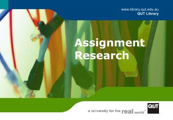 Assignment Research