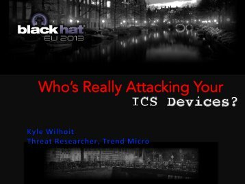 Who's Really Attacking Your !