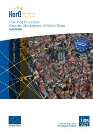 'The Road to Success' Integrated Management of Historic Towns