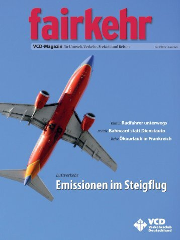 Emissionen im Steigflug