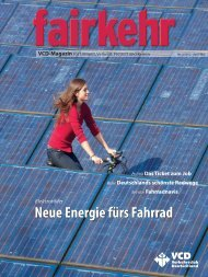 Neue Energie fürs Fahrrad